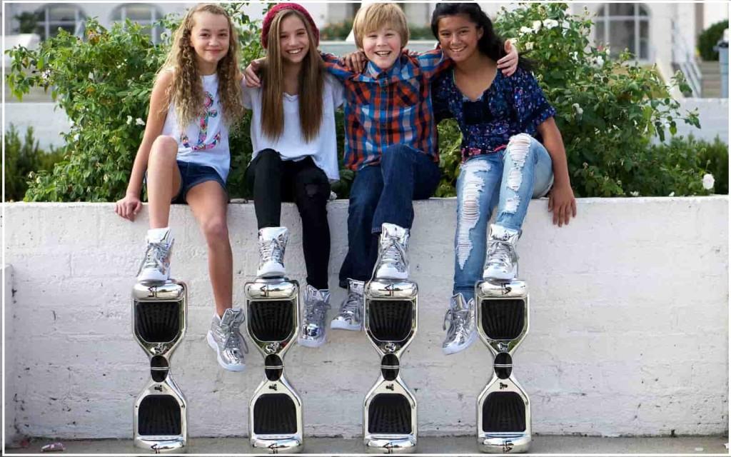 гироскутер для девочки