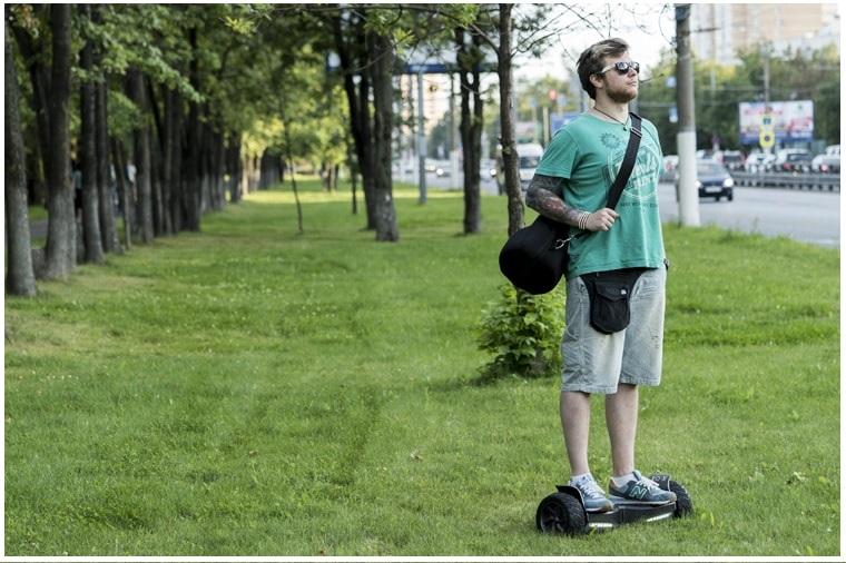 гироскутер в парке