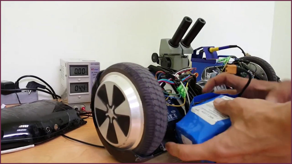 ремонт гироскутеров спб